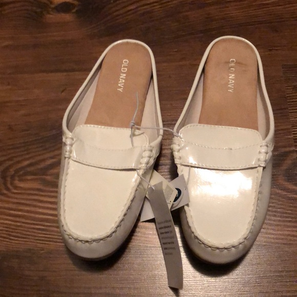 Old Navy White Mules